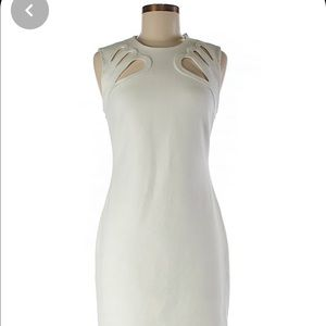 DIANE von FURSTENBERG women's white dress XS